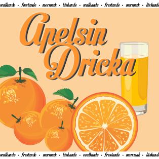 Apelsindricka